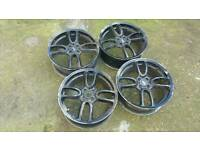 Mini Cooper GP Worx 18inch wheels