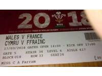 2 tickets 6 nations
