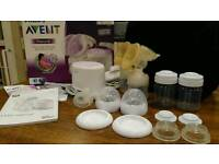 Avent natural twin electric breast pump double