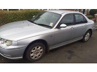 Rover 75 O2 plate MOT till June
