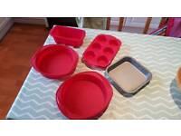Silicon Cake Tins / Baking Trays