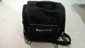 Buffalo motorcycle tail bag