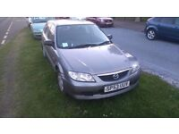 Mazda 323 ,Spares or Repairs £100 ,nice runner MOT till 7th october 17,