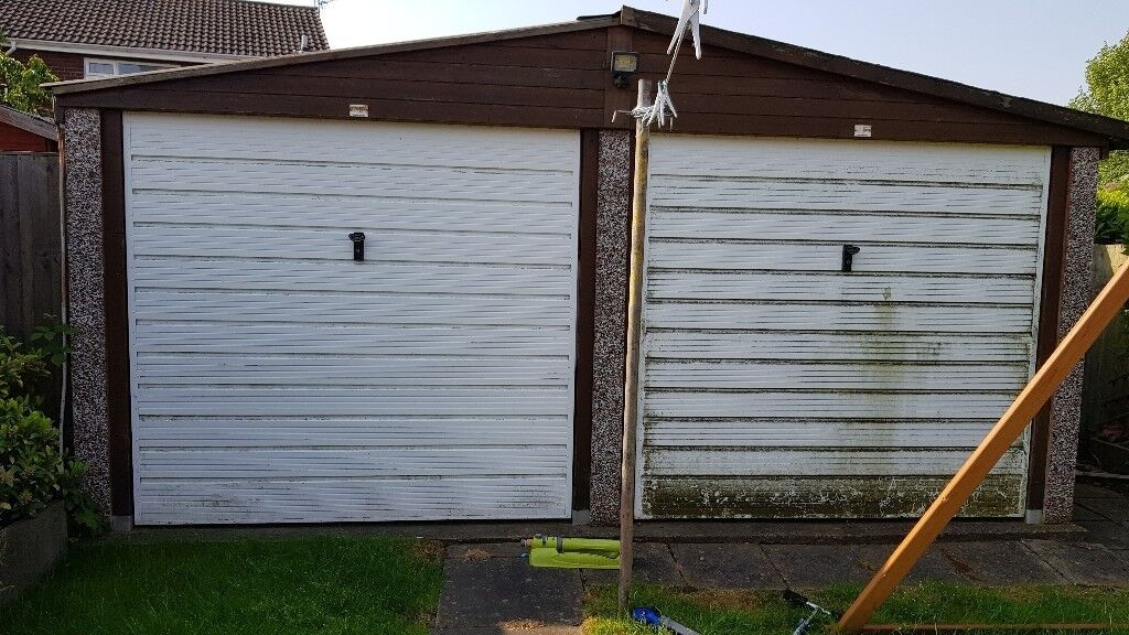 Large Double Concrete Garage In Rossington South Yorkshire