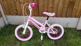 "Hellokitty bike 14"" (Girls bike)"