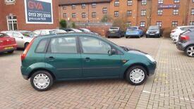 Ford Fiesta LX 1.3 52 Reg 5 Door Green, low insurance