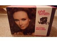 Phil Smith Be Gorgeous Salon Collection Jumbo Heated Rollers - brand new boxed