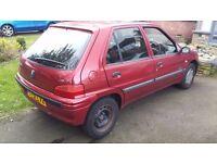 Peugeot 106 1.5 diesel 51reg NOT 206 207