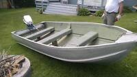 12 foot harbourcraft and 6 HP evinrude