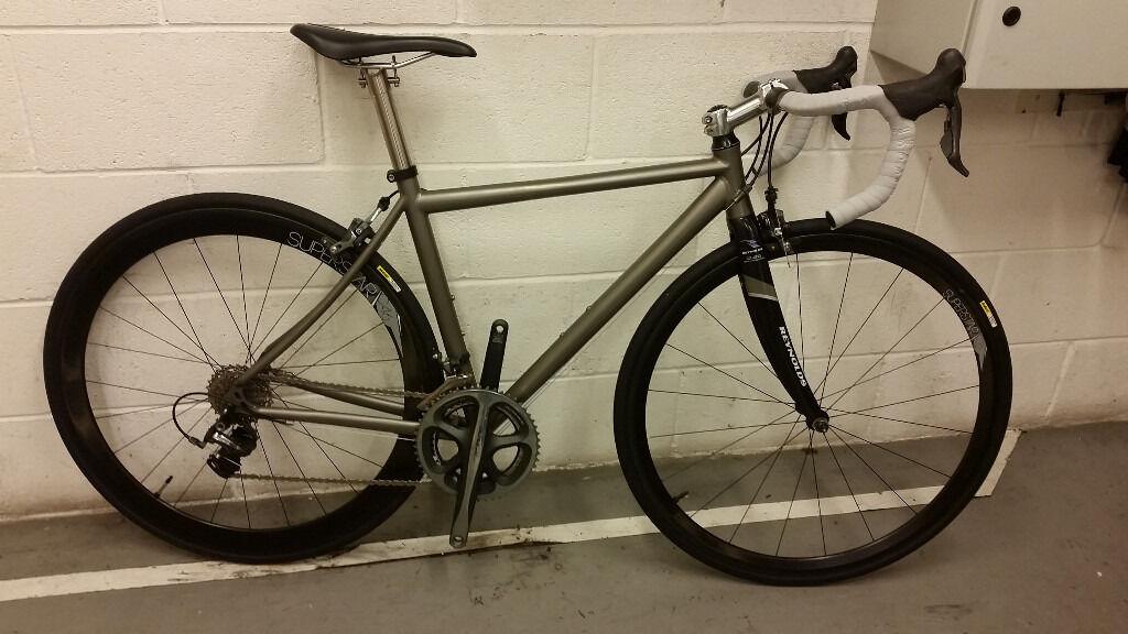 Sabbath Sportive Titanium Road Bike, Carbon Wheels,Dura Ace,focus ...