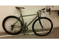 Sabbath Sportive Titanium Road Bike, Carbon Wheels,Dura Ace,focus,giant,trek,bianchi,cervelo,van