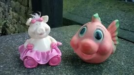piggy banks and cookie jars.