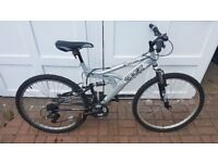 Trax Outrage Full Suspension Mountain Bike