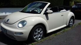 VW Beetle convertible '05 1.6 petrol