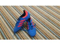 Boys addidas football boots size 2