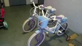 2 16 in frozen bikes £30 each