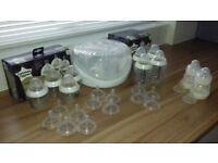 Baby bottles+steriliser bundle