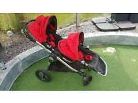 Baby Jogger City Select double buggy / pushchair / pram