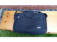 Laptop Bag Technika fits upto 17 inch laptop Has Several Pockets Black Colour