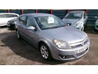 2006 VAUXHALL ASTRA 1.6 SXI 5 DOOR HATCH SILVER AUG 2017 MOT ONLY 62K NEW SERVICE ALLOYS CD E/W E/M