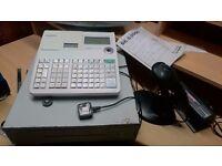 Sale: Cash register, Fridge, Gondola Shelving Unit.