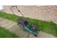Hayter harrier 41 petrol lawnmower