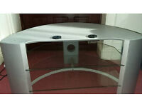 TV STAND Silver / Grey