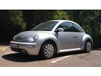 COME AND GRAB A BARGAIN!! VW BEETLE 1.6 2004 STAR SILVER CLEAN & TIDY FULL MOT FIRST TO SEE WILL BUY