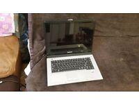 "faulty Samsung NP-R40 Plus 1GB 120GB DVD-RW 15.4"" 160GB store Laptop"