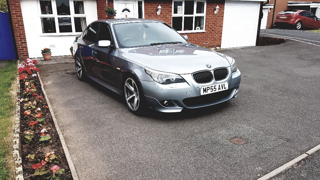 bmw e60 535d m sport 3 0 twin turbo auto 4dr in telford shropshire gumtree. Black Bedroom Furniture Sets. Home Design Ideas