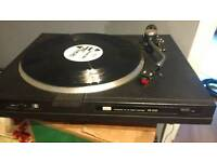Sansui turntable with goldring g800 cartridge and stylus