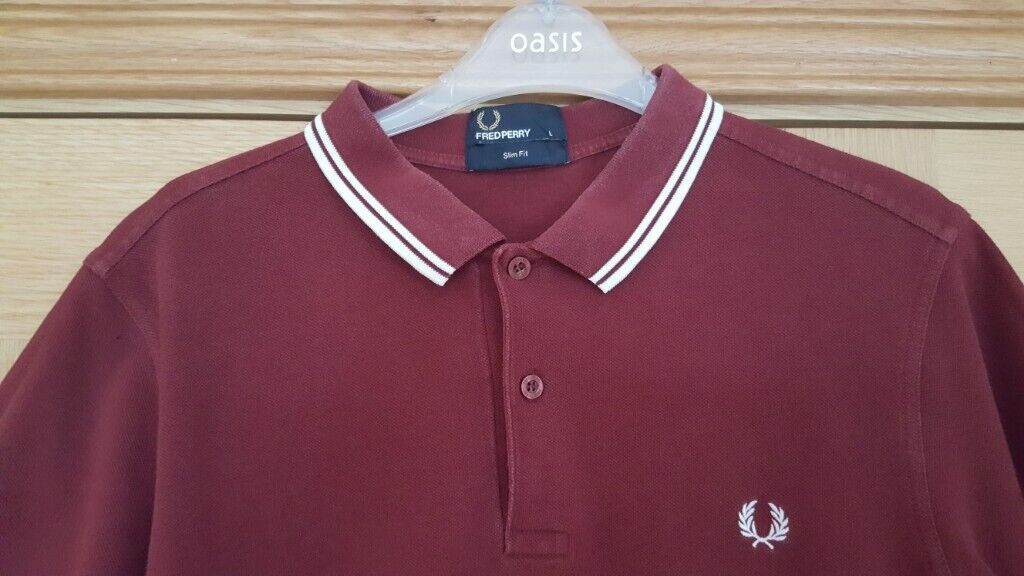 22e5457a7 Mens Maroon Fred Perry polo shirt | in Doagh, County Antrim | Gumtree