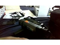 SONY HANDYCAM VISION .video8 steady shot . model CCD-TRV35E, comes with charger,bag + spare battery