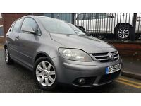 2005 Volkswagen Golf Plus 2.0 TDI PD GT 5dr Hatchback, FULL SERVICE HISTORY, £1,795 p/x welcome