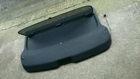 Audi a3/S3 rear parcel shelf with blindl
