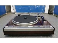 PIONEER PL-707 Turntable + NEW MOVING COIL CART/STYLUS - Rare Record Player Deck - AUDIOPHILE TT