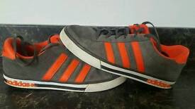 Adidas suede trainers size 9
