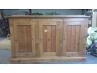 Tall pine Welsh dresser