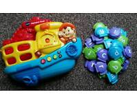 Vtech Alphabet Boat Including All Letters. Cheadle £5