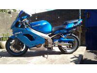 Kawasaki ZX9R 30K Blue