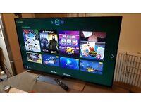 SAMSUNG UE48h6700 48 inch SUPER SMART 3D Premium LED TV Freeview HD & Freesat HD,Excellent Condition