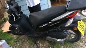 Honda vision black 50cc