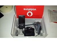 Sony Ericsson K800i mobile phone and charger and sim