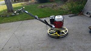 POWER TROWEL EDGER HONDA 24 '' + FREE BLADES + FREE FLOAT PAN + WARRANTY + FREE SHIPPING !!!!!!!!!!!!!!