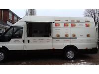 FORD TRANSIT CATERING VAN BURGER/HOT DOG VAN 10 MONTHS MOT