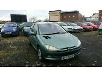 PEUGEOT 206 1.6 PETROL , , LOW MILEAGE , , 1 YEAR MOT , , EXCELLENT RUNNER , , CHEAP CAR