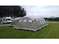 Outwell Vermount XLP tent with side extension , carpets and footprint.