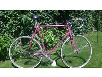 Stunning Graham Weigh Reynolds 531c Fixie Retro Steel Road Bike - 63cm frame with Campag ends