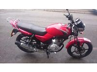 YAMAHA YBR 125cc 57 REG VERY RELIABLE