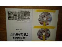 Trumpet book, cd,dvd,new